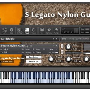 ギター音源 S Legato Nylon Guitar for KONTAKT
