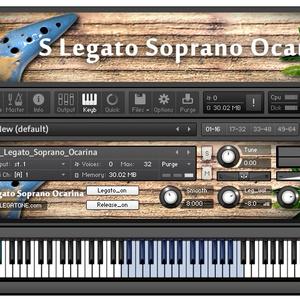 オカリナ音源 S Legato Soprano Ocarina for KONTAKT