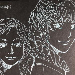 【訳あり】直筆イラストノート
