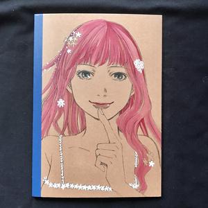 直筆イラストノートB5版