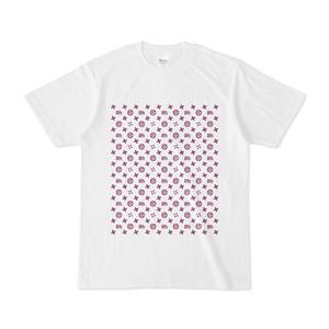 曖丁 ハーフブリック (紫×白)