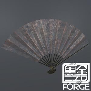 【VRChat向け】高貴鉄扇