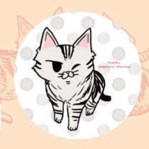 猫缶バッジ