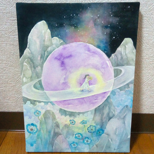 【原画】土星の谷