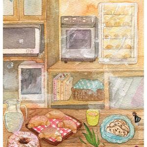 パン教室のキッチン