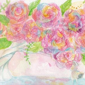 愛咲く花の木