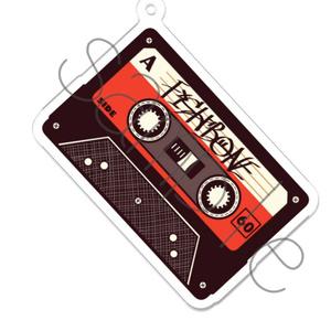 アクリルキーホルダー メモリーカセットテープ