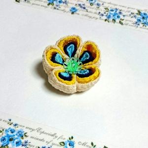 福梅のブローチ(山姥切国広イメージ)