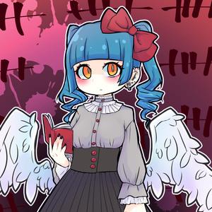 天使ちゃん ステッカー