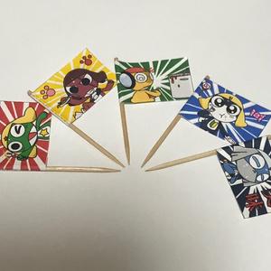 ケロロ小隊 ミニ旗
