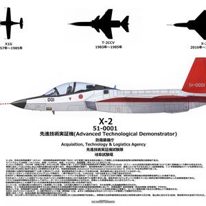 ATD X-2 リトグラフ