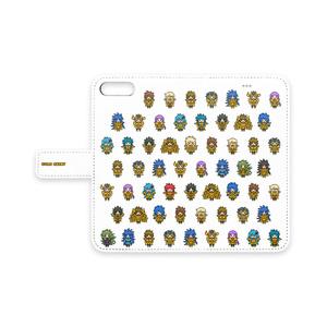 聖闘士星矢 黄金聖闘士 iPhone手帳型ケース