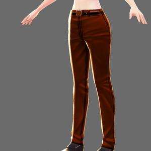 VRoid チョコレート的なズボン