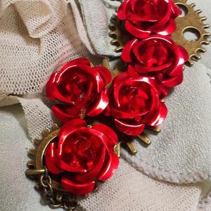 アーサーイメージチョーカー薔薇と歯車【試作】