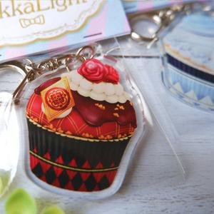 カップケーキアクリルキーホルダー