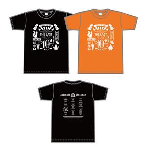 あぶきゃす10周年Tシャツ【黒】【Sサイズ】