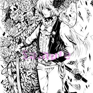 ポストカードセット「少年×童話×日本刀シリーズ」
