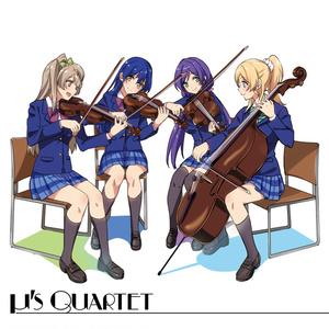 μ's quartet1