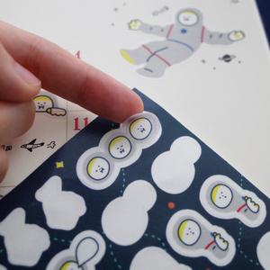 Little Spacemanマスキングシート ポストカード付き