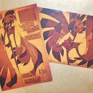デルタポストカードセット(postcard set)