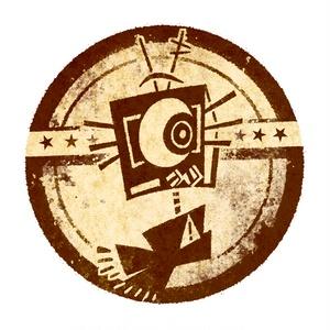 麻布風缶バッジ(cloth canbadge)