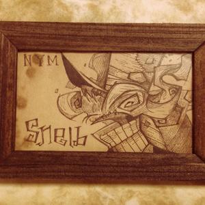 スネルブミニ原画 / traditional drawing
