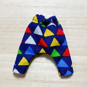 サルエルパンツ三角柄