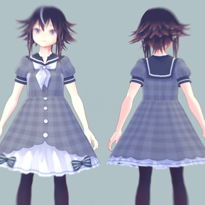 【無料試着可】VRoid用衣装テクスチャ【5色セット】