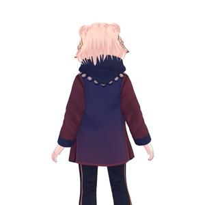 【無料試着可】キョンシースタイル【VRoid衣装&髪型】
