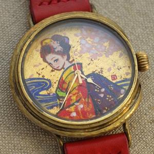 限定1個 アート文字盤 手作り腕時計 TAMURA Yoshiyasu x Kohei Yanai | Art Watches in A STORY TOKYO