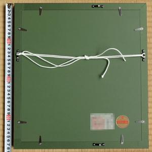 ツナマヨさんモデル墨絵原画「やはらかないきどまりⅡ」特注額装済み