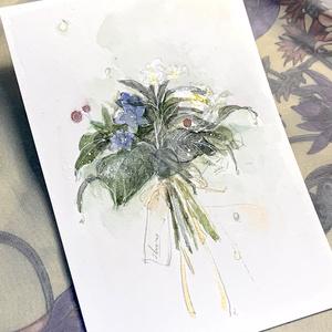「花束drawing」セミオーダー -シークレット制作-