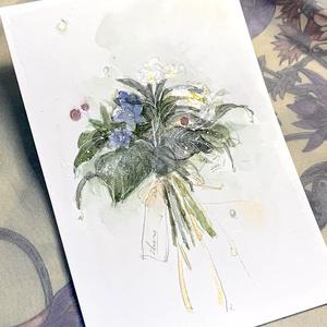 「花束drawing」セミオーダー -通常プラン-
