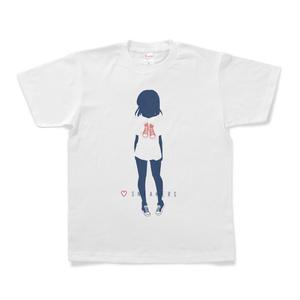 スニーカー娘Tシャツ