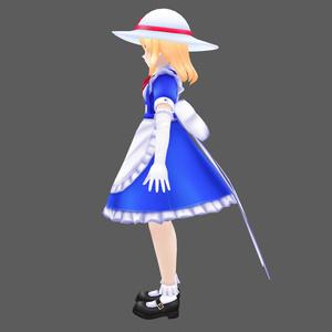 3Dモデル「カナ・アナベラル 」byミストラル