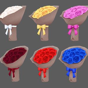 薔薇の花束 6色