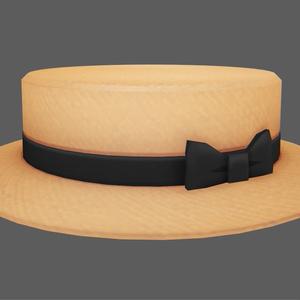 カンカン帽(8月31日まで値引き)