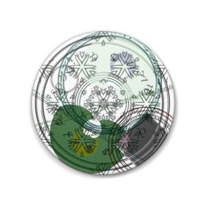 【身内】CoC 探索者:エイベルイメージ魔法陣缶バッチ