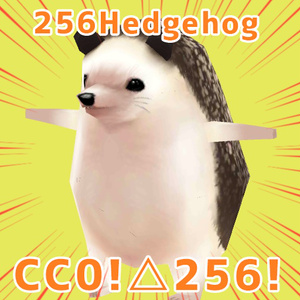 [VRM&Unitypackage]256Hedgehog