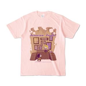 空想地球儀カラーTシャツ