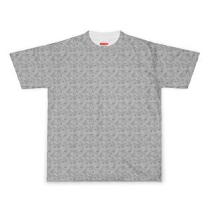 ちびっとマヌルネコTシャツ(グレー)