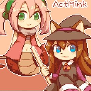 ActMink用 みかづき&メルル