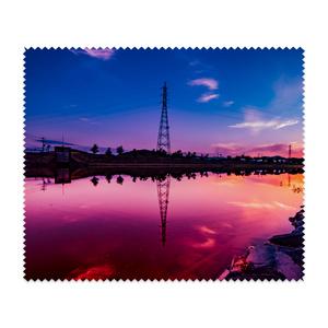 マイクロファイバークロス リフレクション紫②