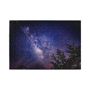 天の川と流星① パズル