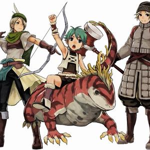 中世ファンタジーRPG風2Dキャラクターパック【キャラクター画像素材】