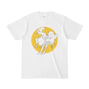 「ふわり」ドローイングTシャツ