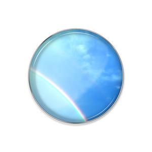 空41 虹 ピンバッジ