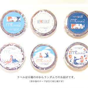 【販売終了】青と赤のマスキングテープ