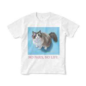 パリスちゃんTシャツ(白・短納期)