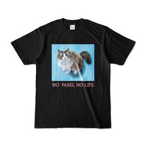 パリスちゃんTシャツ(ブラック)